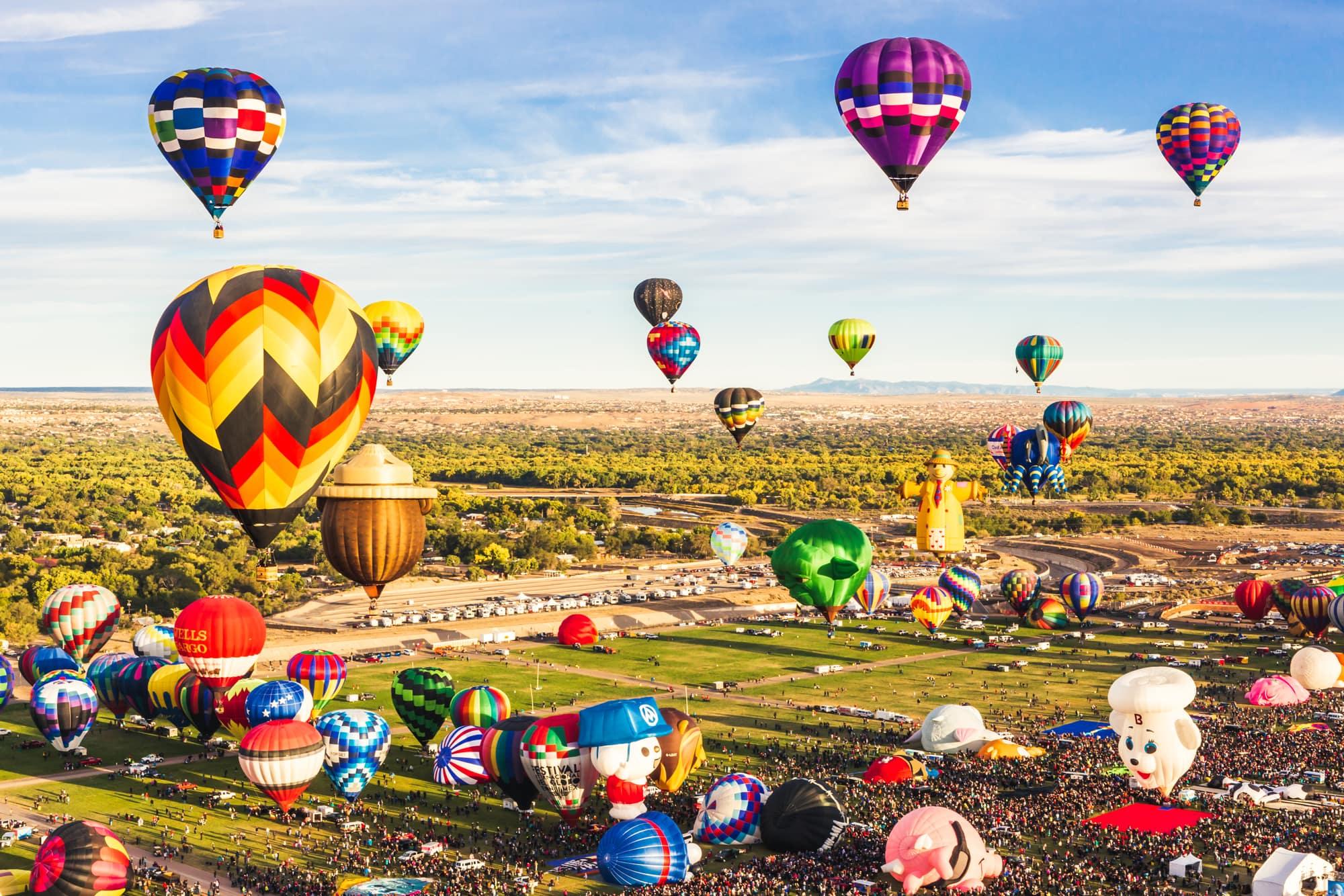 Albuquerque Balloon Fiesta ©Leora Bermeister