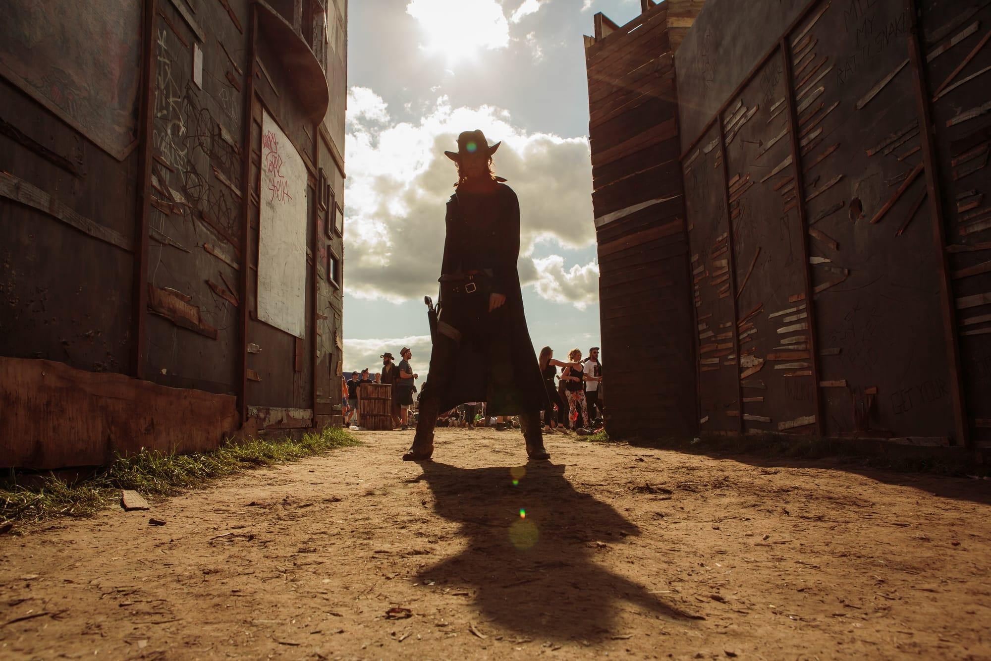 Wild West, Boomtown 2017 ©Leora Bermeister