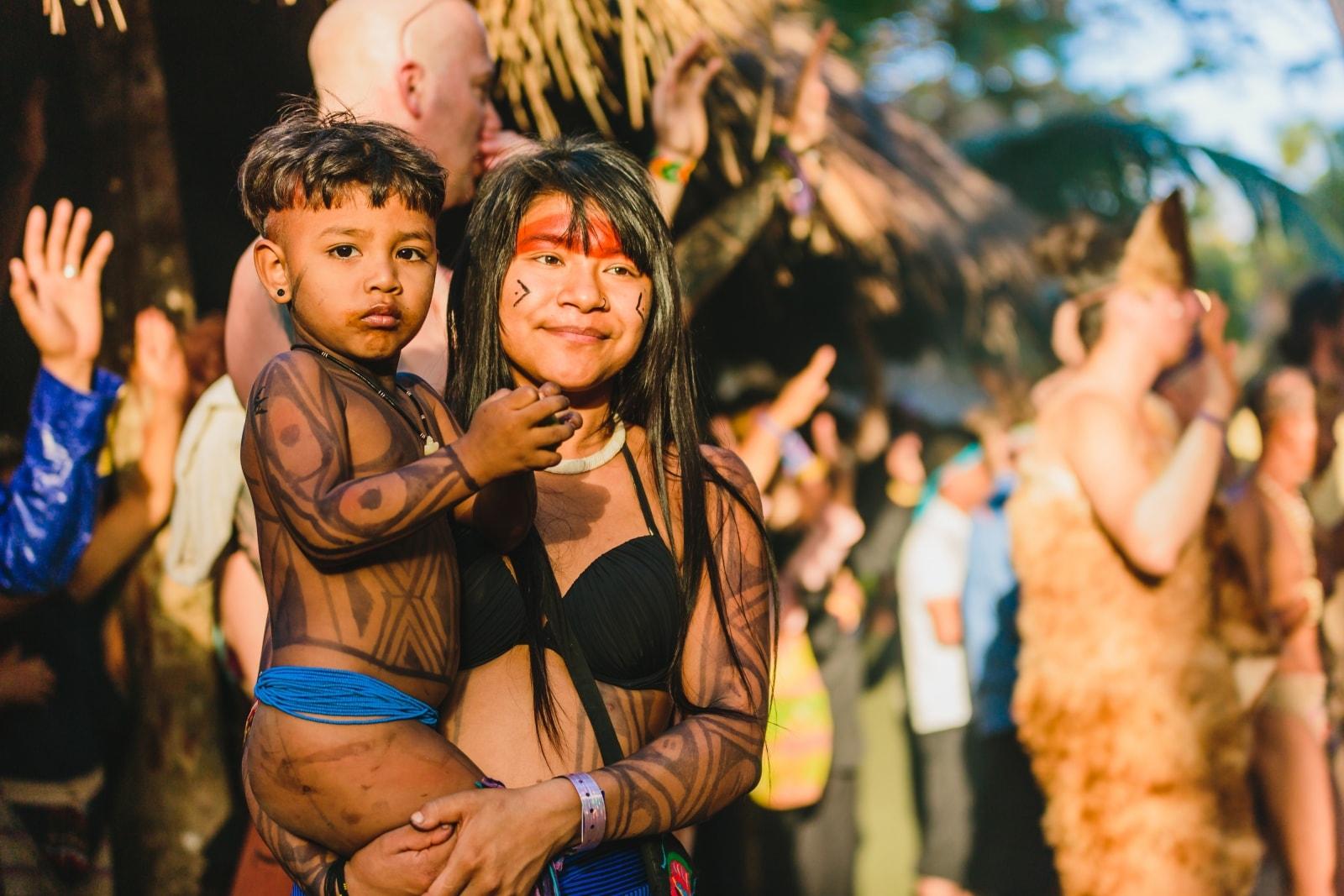 Panama Tribal Gathering ©Leora Bermeister
